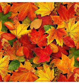 Elizabeth's Studio Landscape Medley - Autumn Leaves Multi