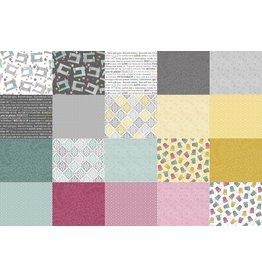 Contempo Words to Quilt by - 10 x 10 Pack