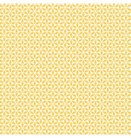 Contempo Words to Quilt By - Geo Flower Yellow/White