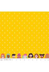Riley Blake Designs GRL PWR - Lightning Yellow