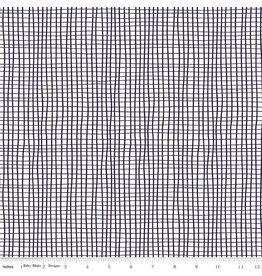 Riley Blake Designs GRL PWR - Grid White