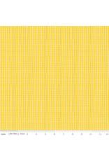 Riley Blake Designs GRL PWR - Grid Yellow