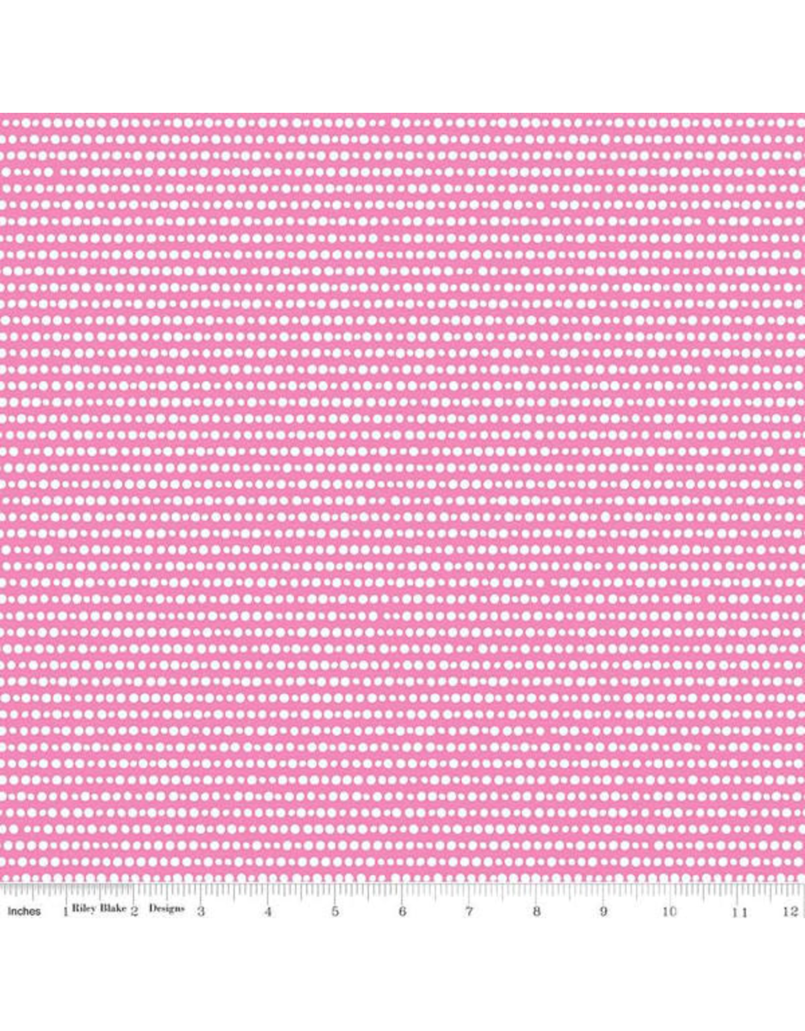 Riley Blake Designs GRL PWR - Dots Pink
