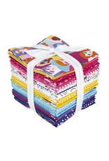 Riley Blake Designs GRL PWR - Fat Quarter pakket