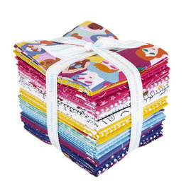 Riley Blake Designs GRL PWR - Fat Quarter pakket