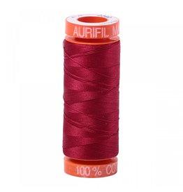 Aurifil Mako 50 - 200m 2260 - Red Wine