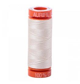 Aurifil Mako 50 - 200m 2309 - Silver White