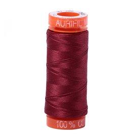 Aurifil Mako 50 - 200m 2460 - Dark Carmine Red