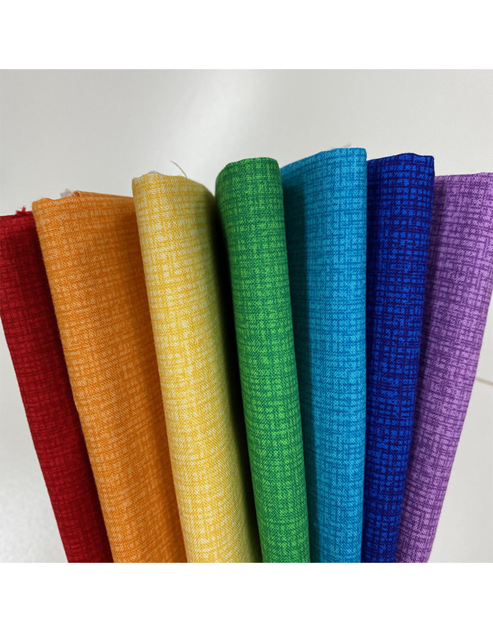 Contempo Color Weave - Regenboog FQ pakket