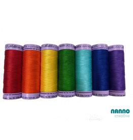 Mettler Mettler - Silk Finish Cotton - Regenboog pakket 1