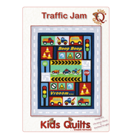 Kids Quilts Traffic Jam - applique quilt patroon