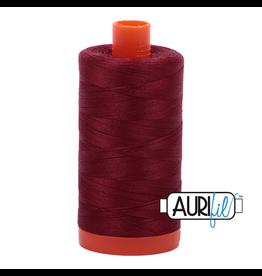 Aurifil Mako 50 - 1300m 2460 - Dark Carmine Red