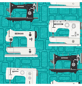 Benartex Bernina Vintage - Teal