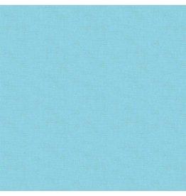 Makower UK Linen Texture - Sapphire coupon (± 40 x 110 cm)