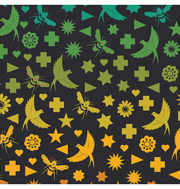 Andover Art Theory - Seventy Six Bird & Bee Night