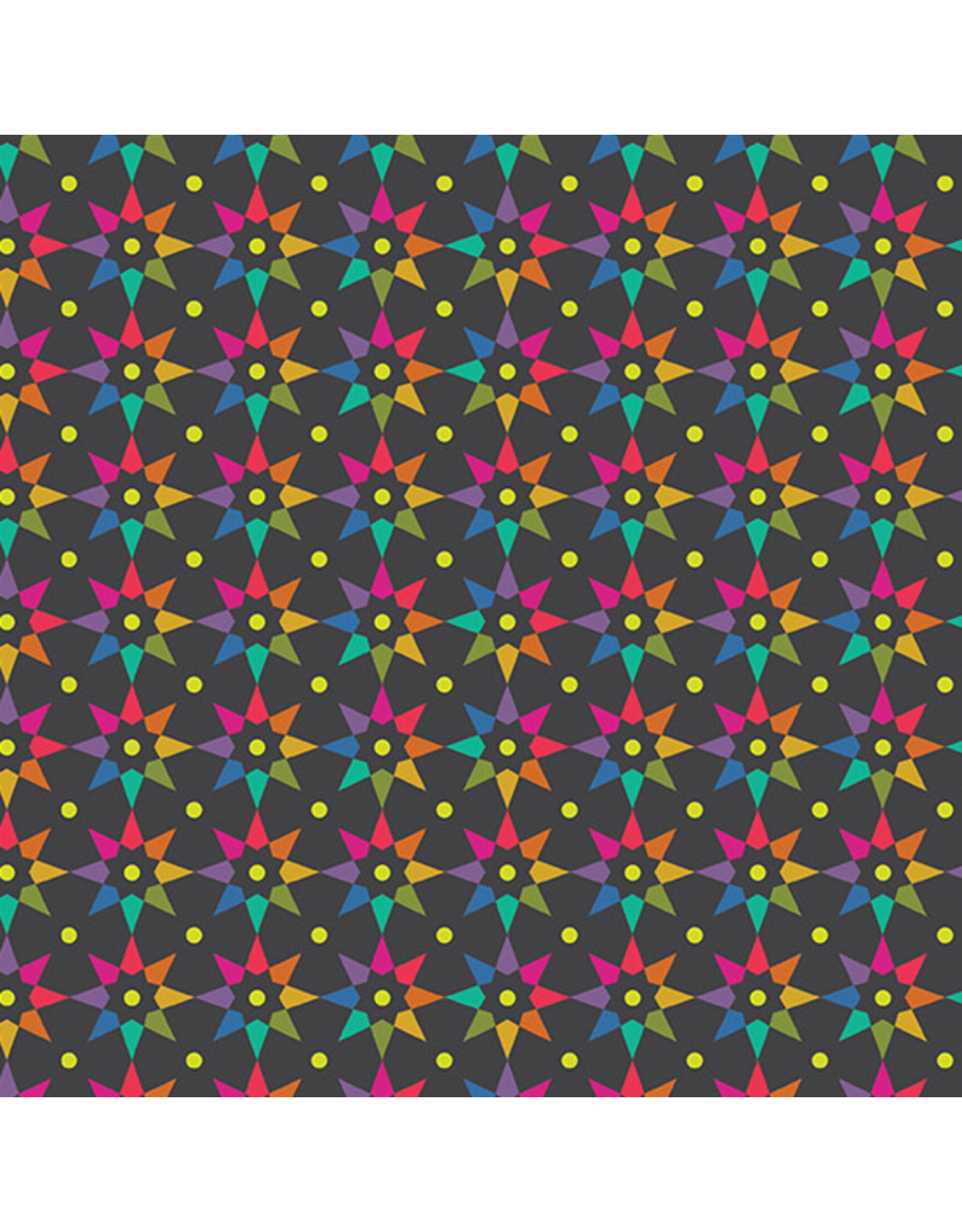 Andover Art Theory - Rainbow Star Night