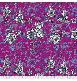 FreeSpirit Woodland Walk - Fawn in Flowers Pink