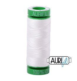 Aurifil Mako 40 - 150 m 2021 - Natural White