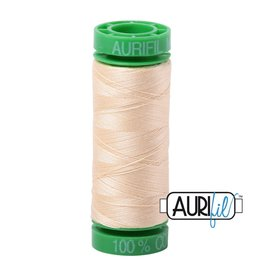 Aurifil Mako 40 - 150 m 2123 - Butter