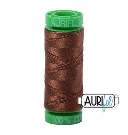 Aurifil Mako 40 - 150 m 2372 - Dark Antique Gold