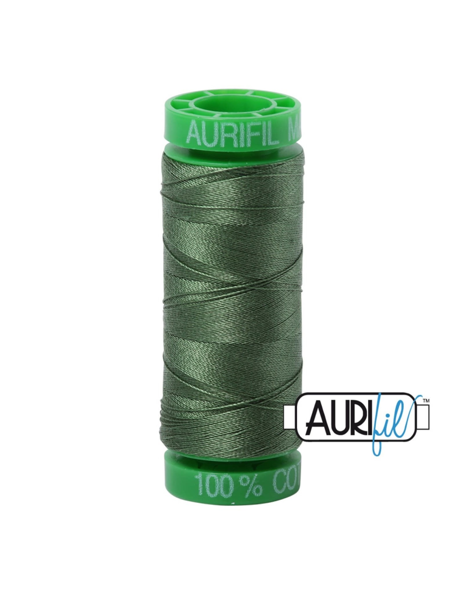 Aurifil Mako 40 - 150 m 2890 - Very Dark Grass Green