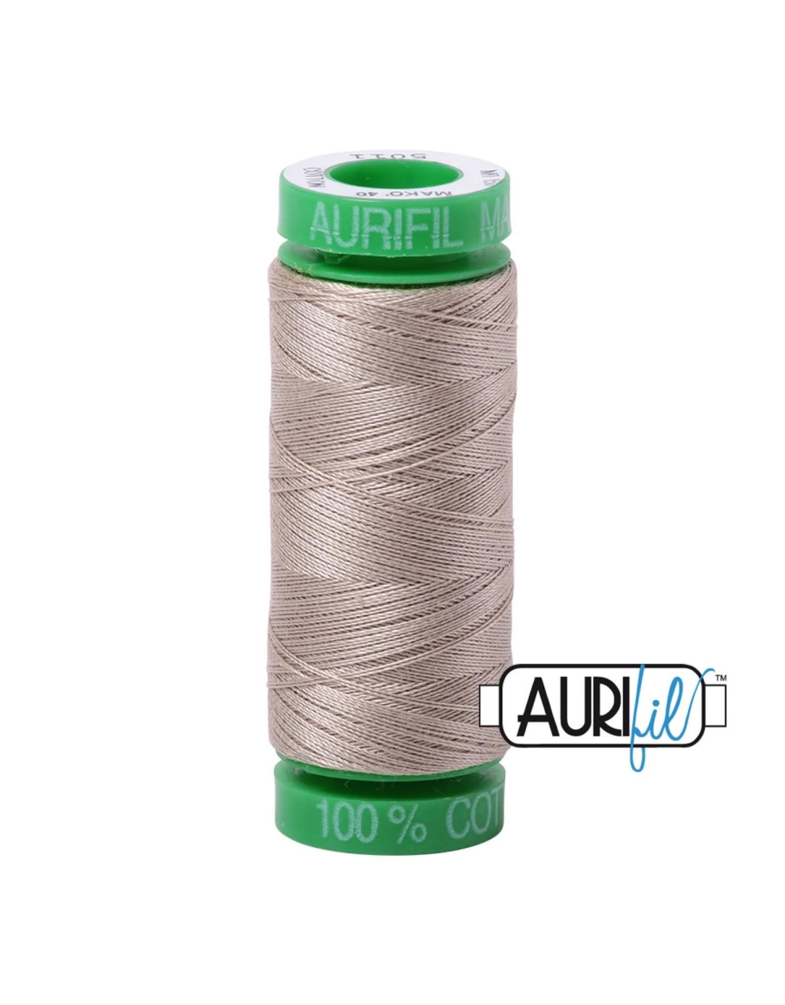 Aurifil Mako 40 - 150 m 5011 - Rope Beige