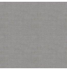 Makower UK Linen Texture - Steel Grey coupon (± 22 x 110 cm)