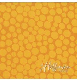 Me+You by Hoffman Fabrics Indah Batiks - 161-Sunflower coupon (± 27 x 110 cm)