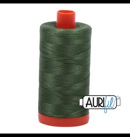 Aurifil Mako 50 - 1300m 2890 - Very Dark Grass Green