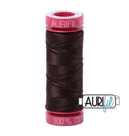 Aurifil Mako 12 - 50 m 1130 - Very Dark Bark