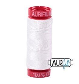 Aurifil Mako 12 - 50 m 2021 - Natural White