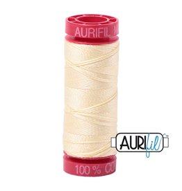 Aurifil Mako 12 - 50 m 2110 - Light Lemon