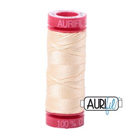 Aurifil Mako 12 - 50 m 2123 - Butter