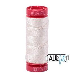 Aurifil Mako 12 - 50 m 2309 - Silver White