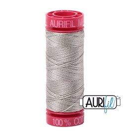 Aurifil Mako 12 - 50 m 5021 - Light Grey