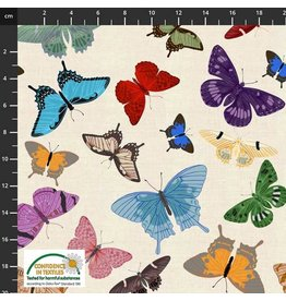 Stof Fabrics My Flutter By - All Over Butterfly
