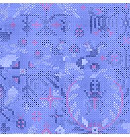 Andover Sunprint 2020 - Menagerie Opal coupon (± 44 x 110 cm)