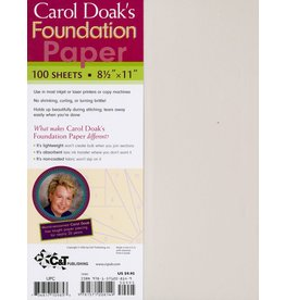 CT Publishing Carol Doak's Foundation Paper