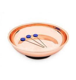Hemline Magnetic Pin Dish - Rose Gold