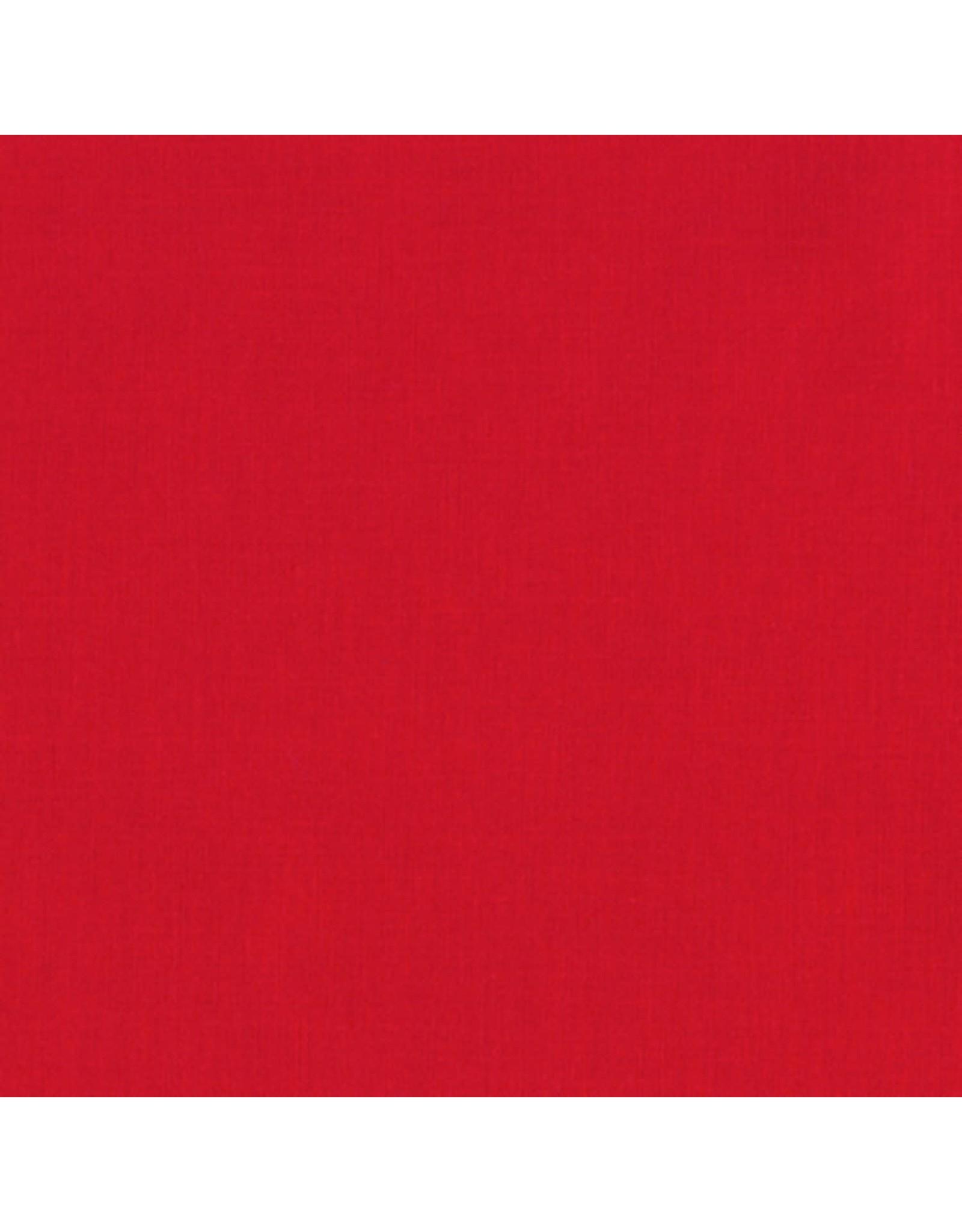 Robert Kaufman Kona Solids - 1308 - Red