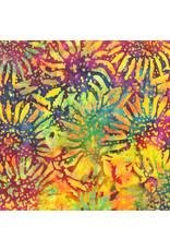 Anthology Fabrics Be Colourful Batik - Sunflowers