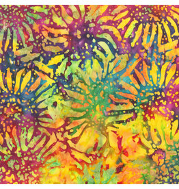 Anthology Fabrics Be Colourful Batik - Sunflowers