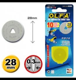 Olfa Olfa reservemes 28 mm - 10 stuks