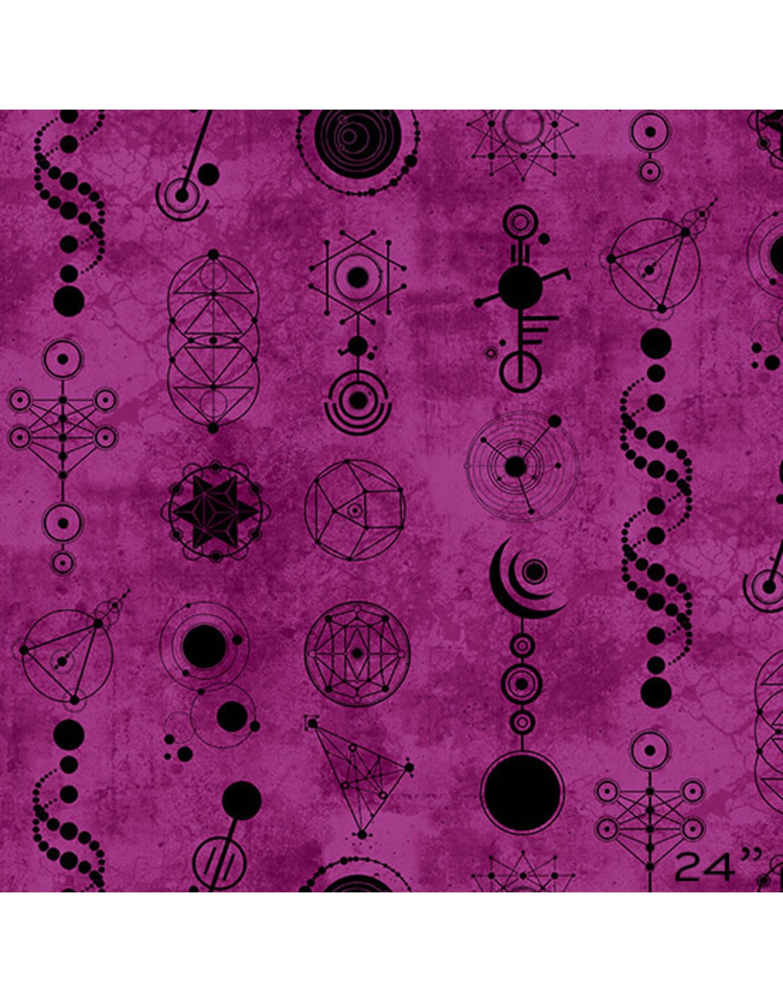 Andover Declassified - Crop Circles Amethyst coupon (± 24 x 110 cm)
