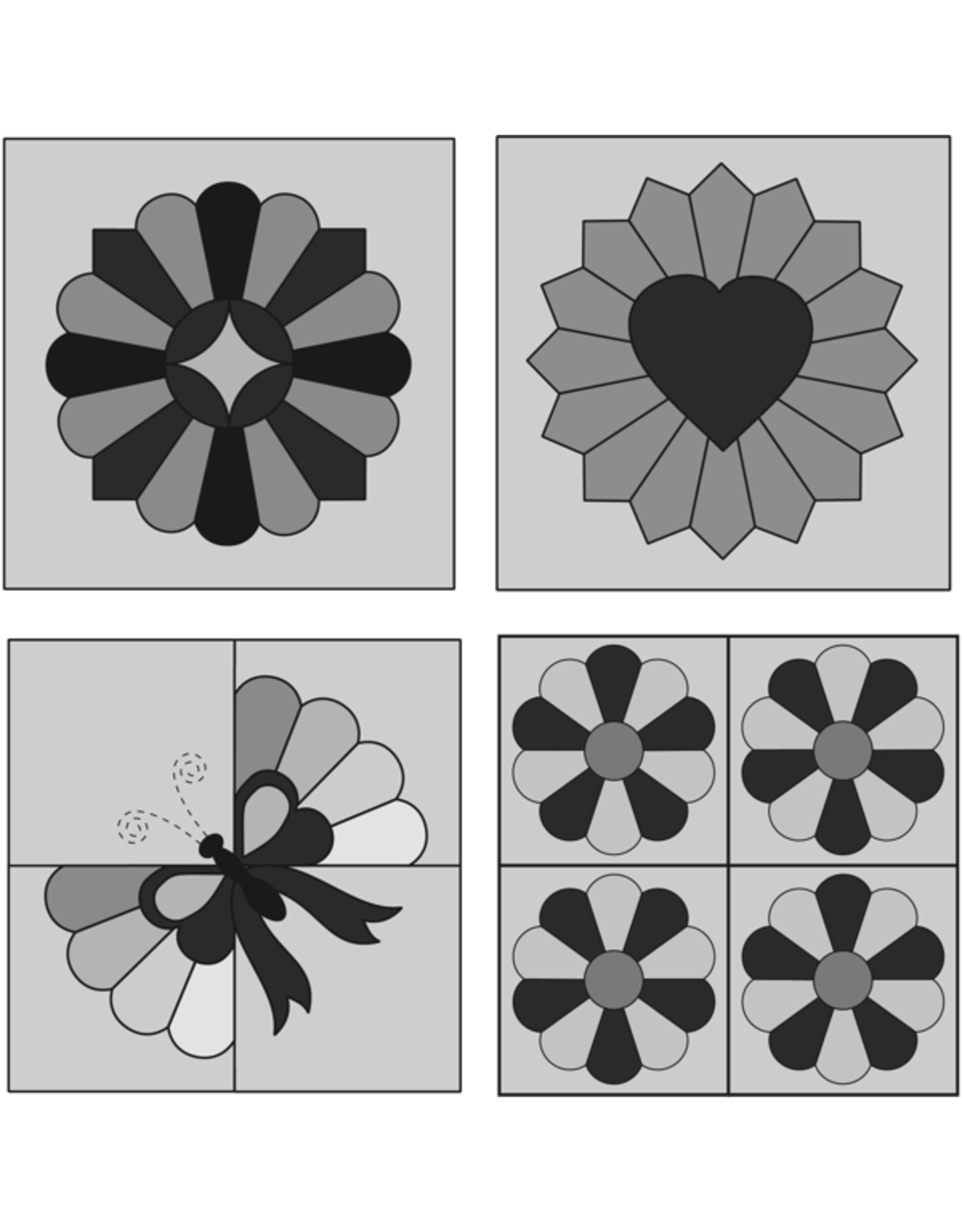 Marti Michell Dresden Plate Template Set