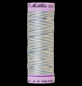 Mettler Silk Finish Cotton Multi 50 - 100 meter 9810 - Tranquil Blue