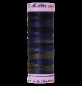 Mettler Silk Finish Cotton Multi 50 - 100 meter 9813 - Deep Night