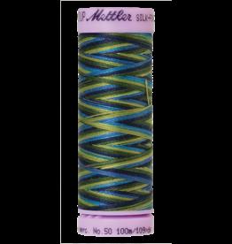 Mettler Silk Finish Cotton Multi 50 - 100 meter 9815 - Lakeside View