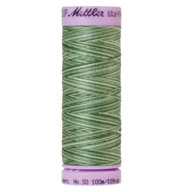 Mettler Silk Finish Cotton Multi 50 - 100 meter 9819 - Spruce Pines