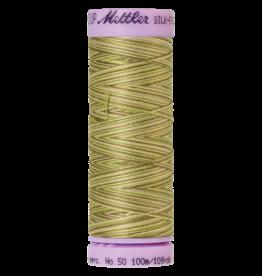 Mettler Silk Finish Cotton Multi 50 - 100 meter 9820 - Green Tea
